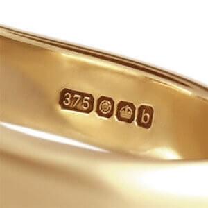 375 проба золота