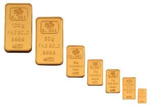 Покупка золотых слитков
