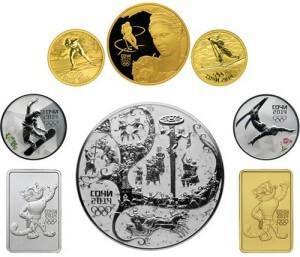 Серебрянные монеты Сбербанка