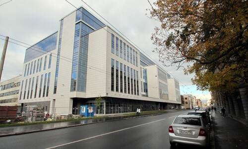 Открытие бизнес-центра