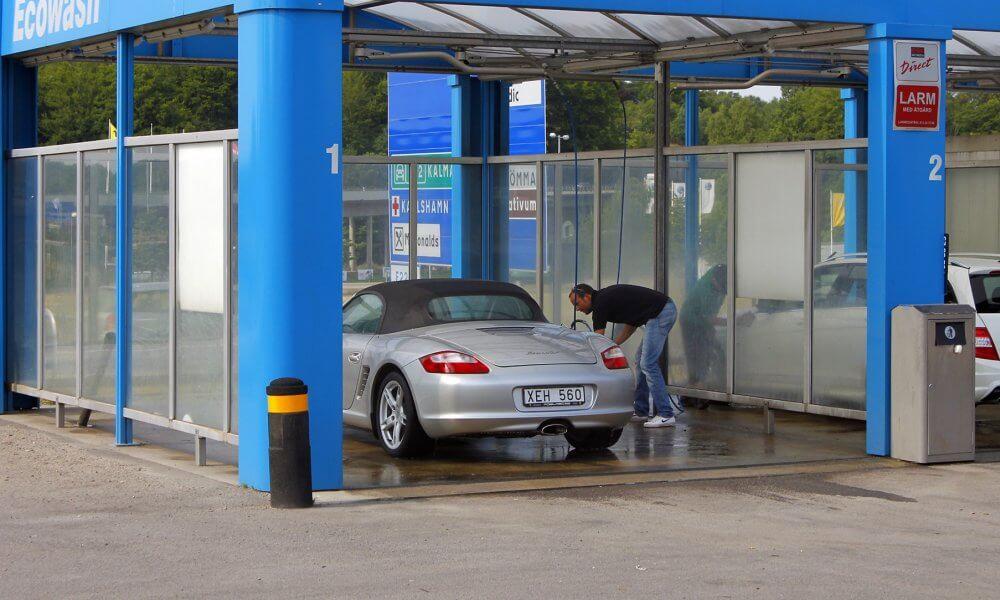 Открытие автомойки самообслуживания
