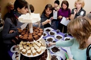 Организация бесплатной дегустации тортов