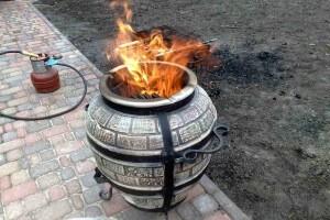 Тандырная печь